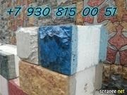 Мрамор из бетона и теплоблоки Кремнегранит 1