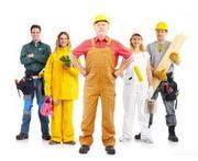 Требуются рабочие строительных специальностей.
