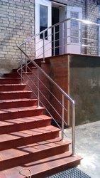 перила для лестниц, ограждения из нержавеющей стали, комплектующие для п