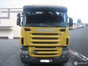 Грузовик с термобудкой Scania R480