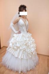 Продам свадебное платье!(без колец)