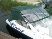 Пошив и ремонт тентов на катера и лодки